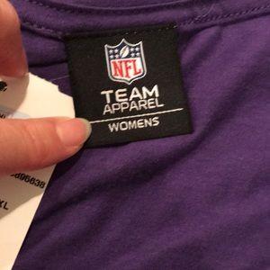 NFL Team Apparel Tops - NWT Minnesota Vikings V Neck 42808ee24